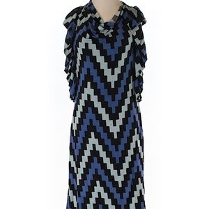 NWT Chevron Pattern dress by Tracy Reese, Small